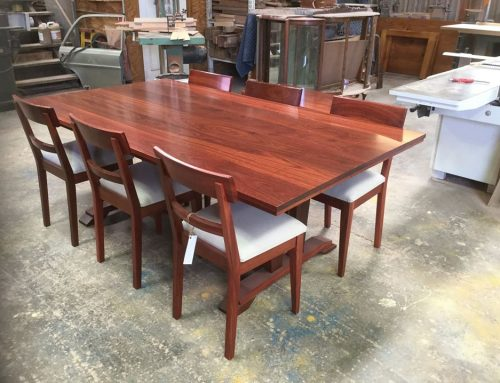 Jarrah Dining Suite & Coffee Table